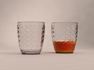3D glass rum