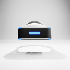 vr virtual reality headsets 3D model