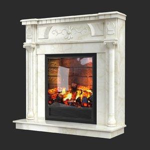 3D fireplace electric dacota
