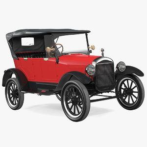 classic vintage 20s car model