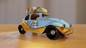 3D toy travel car