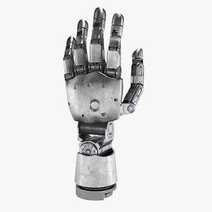 3D model modular prosthetic hand