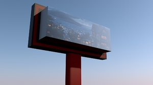 banner road 3D