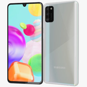 3D realistic samsung galaxy a41 model
