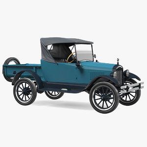 t roadster pickup 1926 3D model