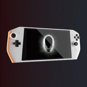 3D alienware concept ufo