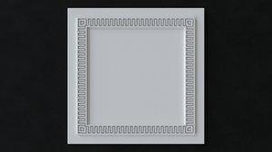 ceiling tiles greek style 3D