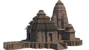 3D konark temple