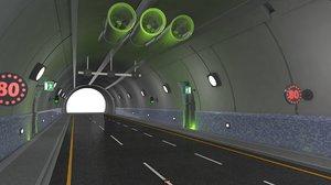 3D adjustable tunnel rig