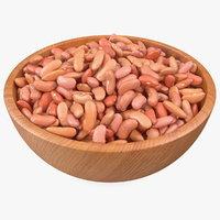 Full Bowl of Light Red Kidney Beans