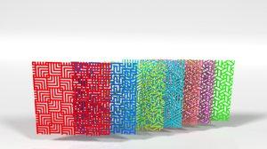 ornament modern pattern 3D
