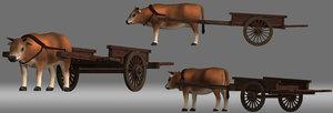 cattle cart model