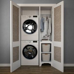 3D laundry