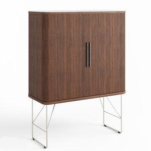 3D naver bar cabinet model