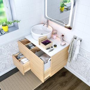 3D model - bathroom godmorgon