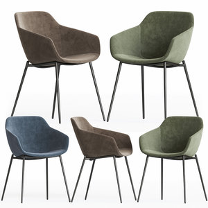 3D model vienna chair boconcept