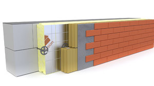 wall decorative brick 3D model