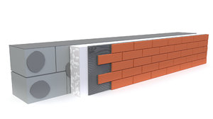 wall decorative brick 3D