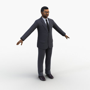3D model character tedros