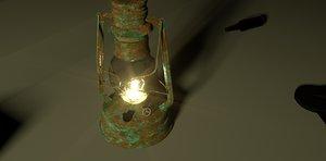 3D lamp env model