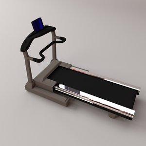 3D treadmill fitness sports
