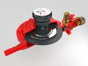 lp gas pressure regulator 3D model