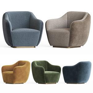 audrey s armchair 3D model