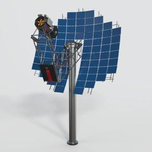solar panel 3D