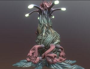 3D model structure alien