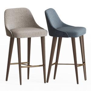 eden rock bar stool 3D model