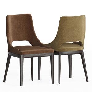 3D grace dining chair giuliomarelli model