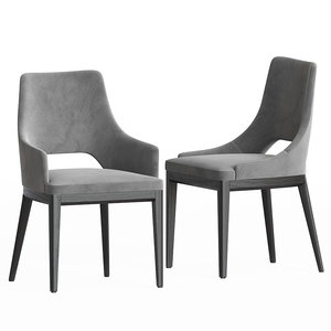 3D grace dining chairs set