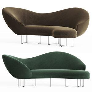 3D hindsight sofa vladimirkagan model