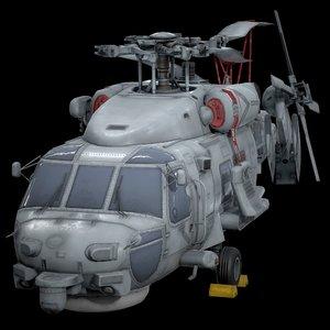 sikorsky s-70b 3D model
