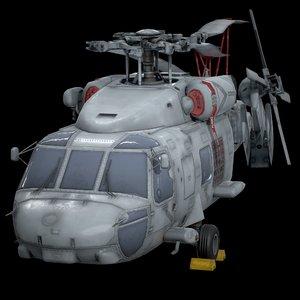sikorsky sh-60f 3D