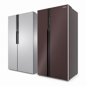3D refrigerator samsung