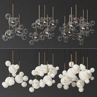 Giopato & Coombes Bolle Circular 14 & 24 & 34 Bubbles Set