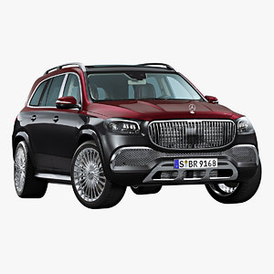 2021 mercedes-benz gls 600 3D model