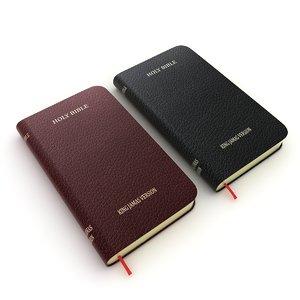 holy bible 3D model