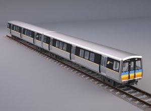 3D model marta metro