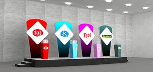 3D promotion decoration