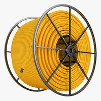 Fiber Optic Conduit Reel 03