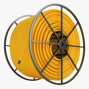fiber optic conduit 3D model