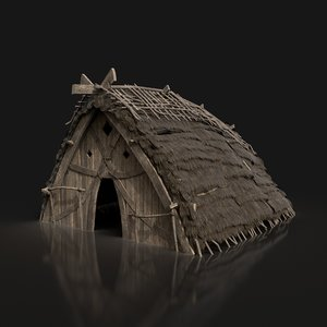 gen aaa viking cabin 3D model