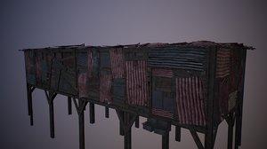 modular junk house kit model