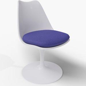 3D classic tulip chair model