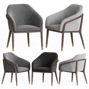 ulivi dining chair 3D model