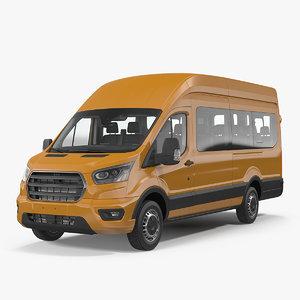 3D passenger van model