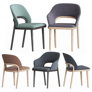 thonet 520 chair set model