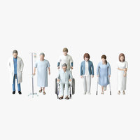Medical People 04(Patient,Doc,Nurse)